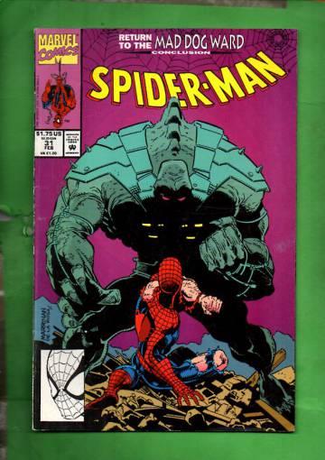 Spider-Man Vol. 1, No. 31, February 1993