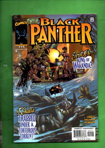 Black Panther Vol 2 #14, January 2000