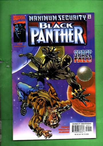 Black Panther Vol 2 #25, December 2000