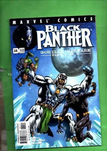 Black Panther Vol 2 #34, September 2001