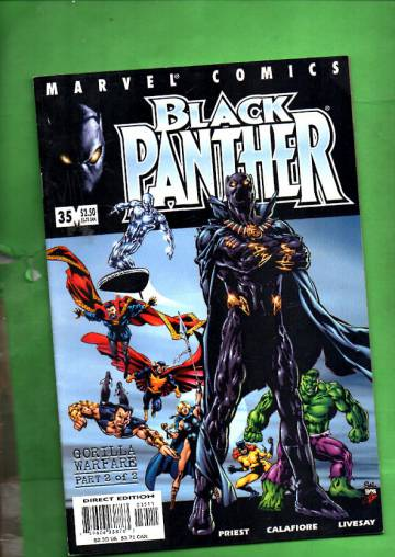 Black Panther Vol 2 #35, October 2001