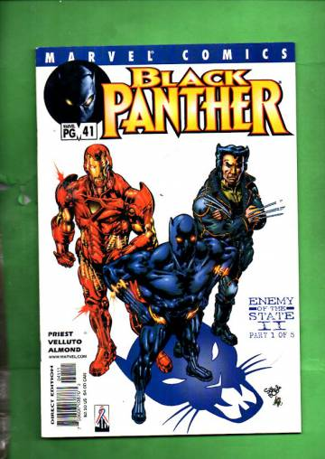 Black Panther Vol 2 #41, April 2002