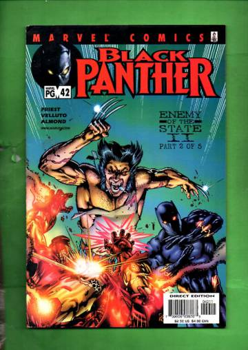 Black Panther Vol 2 #42, May 2002