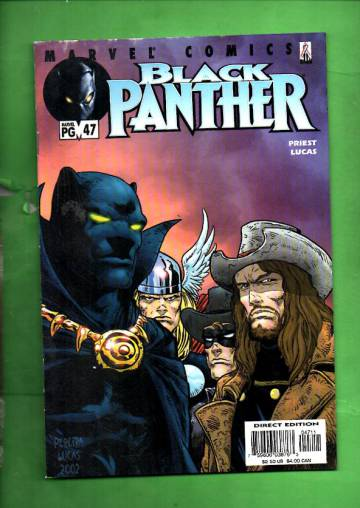 Black Panther Vol 2 #47, October 2002