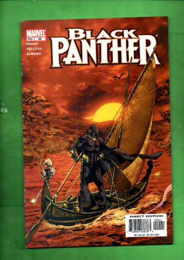 Black Panther Vol 2 #49, November 2002