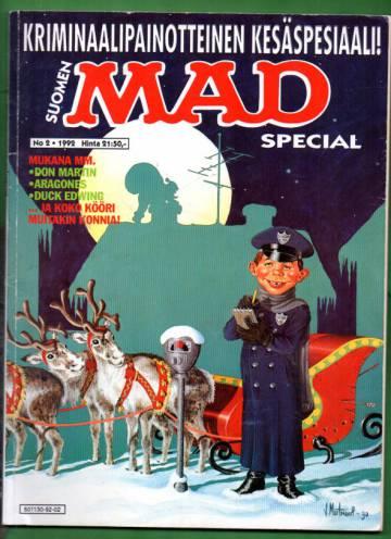 Suomen Mad Special 2/92 - Kriminaalipainotteinen kesäspesiaali