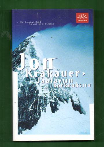 Jäätäviin korkeuksiin - Murhenäytelmä Mount Everestillä