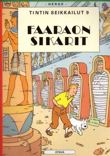 Tintin seikkailut 9 - Faaraon sikarit (Tintti)