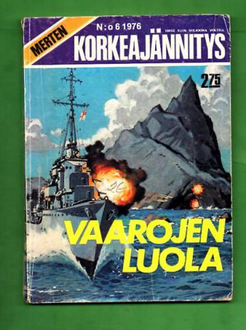 Merten korkeajännitys 6/76 - Vaarojen luola