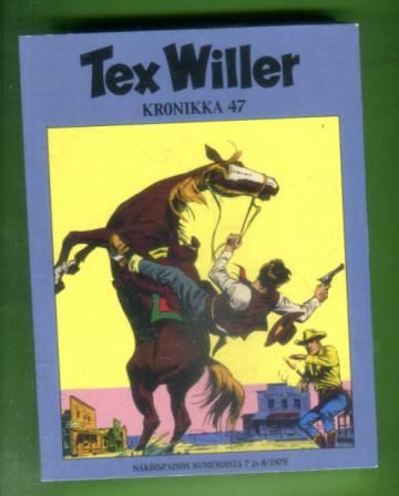 Tex Willer -kronikka 47 - Lynkkaajat/ Rauha vaarassa