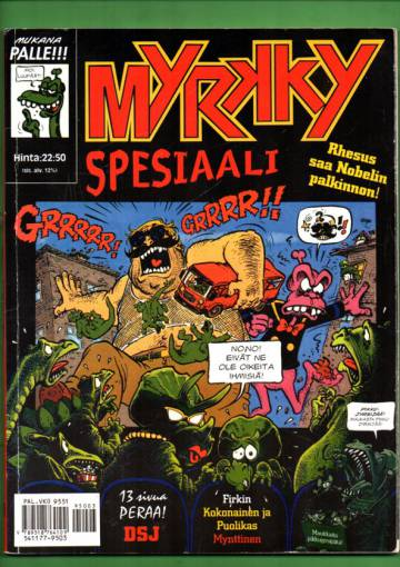 Myrkky-spesiaali 3/95