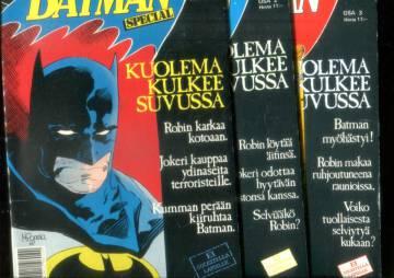 Batman -special 1-3/89: Kuolema kulkee suvussa