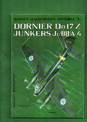 Suomen ilmavoimien historia 2 - Dornier Do17 Z / Junkers Ju88 A-4
