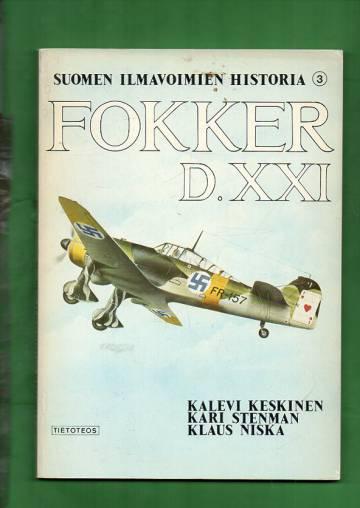 Suomen ilmavoimien historia 3 - Fokker D.XXI