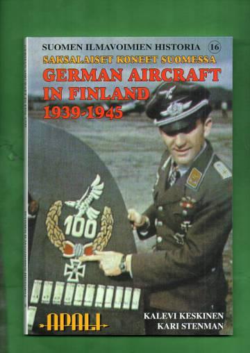 Suomen ilmavoimien historia 16 - Saksalaiset koneet Suomessa / German Aircraft in Finland 1939-1945