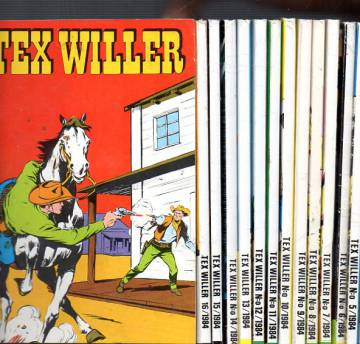 Tex Willer -vuosikerta 1984 (1-16)