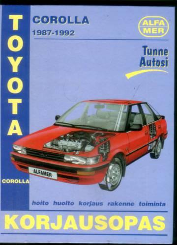 Toyota Corolla korjausopas - 1987-1992