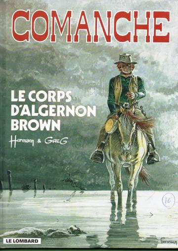Comanche 10 - Le corps d'Algernon Brown