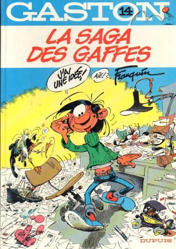 Gaston 14 - La saga des gaffes