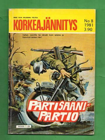 Korkeajännitys 8/81 - Partisaanipartio