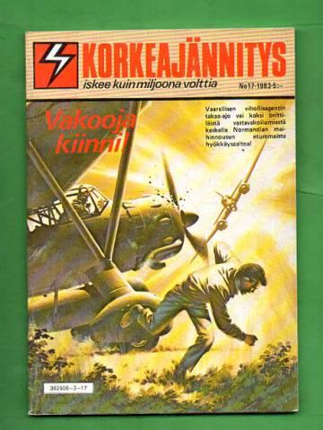 Korkeajännitys 17/83 - Vakooja kiinni