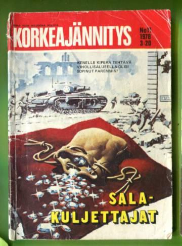 Korkeajännitys 11/78 - Salakuljettajat