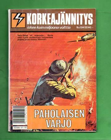 Korkeajännitys 10/91 - Paholaisen varjo