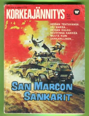 Korkeajännitys 1/75 - San Marcon sankarit