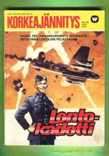 Korkeajännitys 22/75 - Lentokadetti