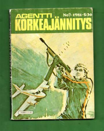 Agentti korkeajännitys 7/81