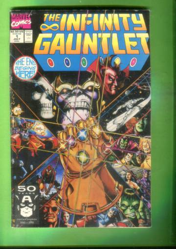 The Infinity Gauntlet #1, July 91