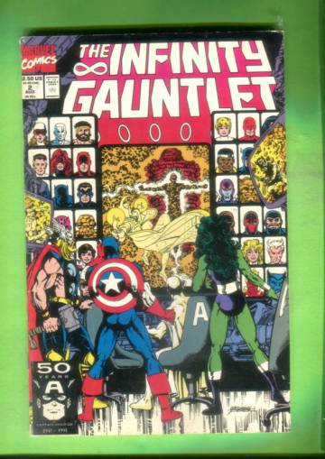 The Infinity Gauntlet #2, August 91
