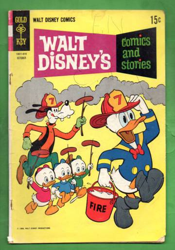 Walt Disney´s Comics and Stories Vol 29 #1, Oct 1968