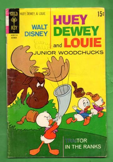 Walt Disney Huey Dewey and Louie Junior Woodchucks