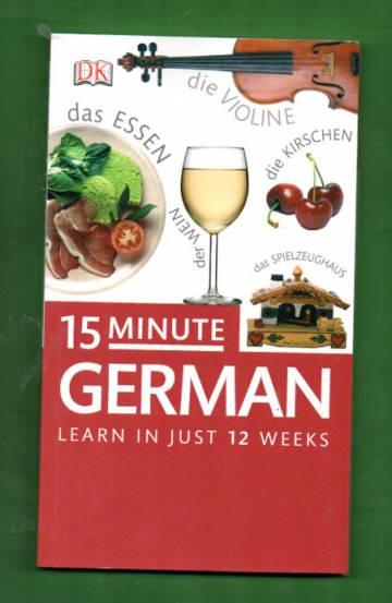 15 minute German - Learn in just 12 weeks