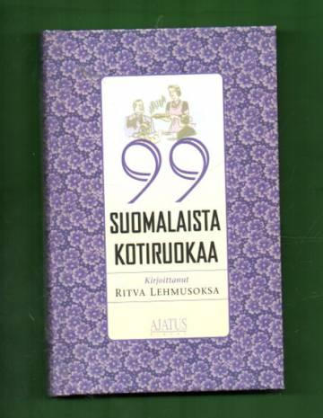 99 suomalaista kotiruokaa