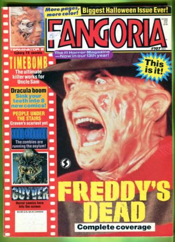 Fangoria #107 Oct 91