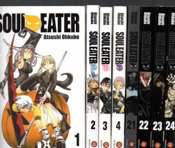 Soul Eater #1-25 (Koko sarja)