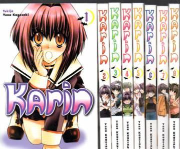 Karin #1-14 (Koko sarja)