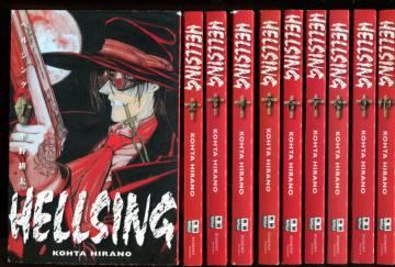 Hellsing 1-10 (koko sarja)