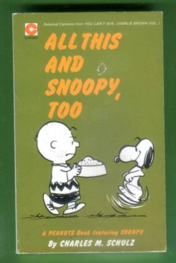 All This, and Snoopy Too
