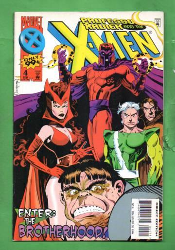Professor Xavier and the X-Men Vol.1 #4 Feb 96