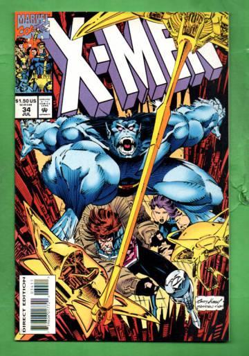 X-Men Vol.1 #34 Jul 96