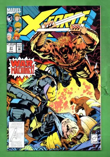 X-Force Vol. 1 #21 Apr 93