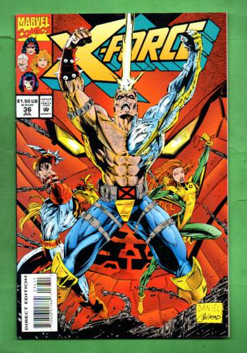 X-Force Vol.1 #36 Jul 94
