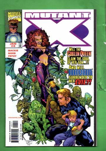 Mutant X Vol.1 #4 Jan 99