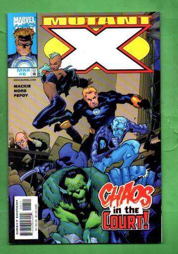 Mutant X Vol.1 #6 Mar 99