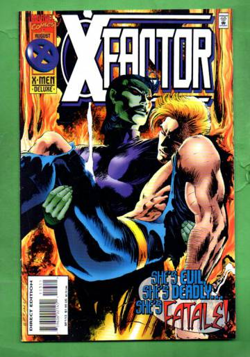 X-Factor Vol.1 #113 Aug 95