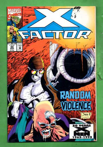 X-Factor Vol.1 #88 Mar 93