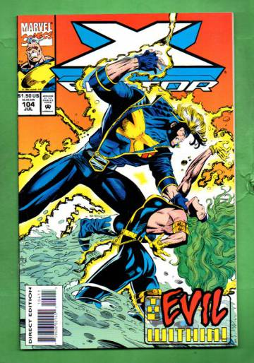 X-Factor Vol.1 #104 Jul 94
